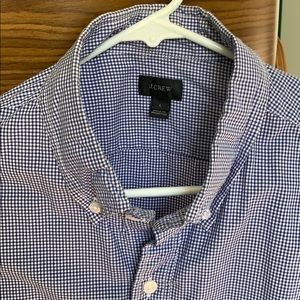 J Crew long sleeve button down